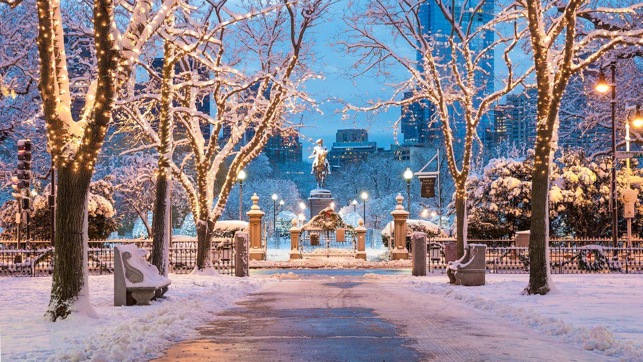Mùa đông nước Mỹ
